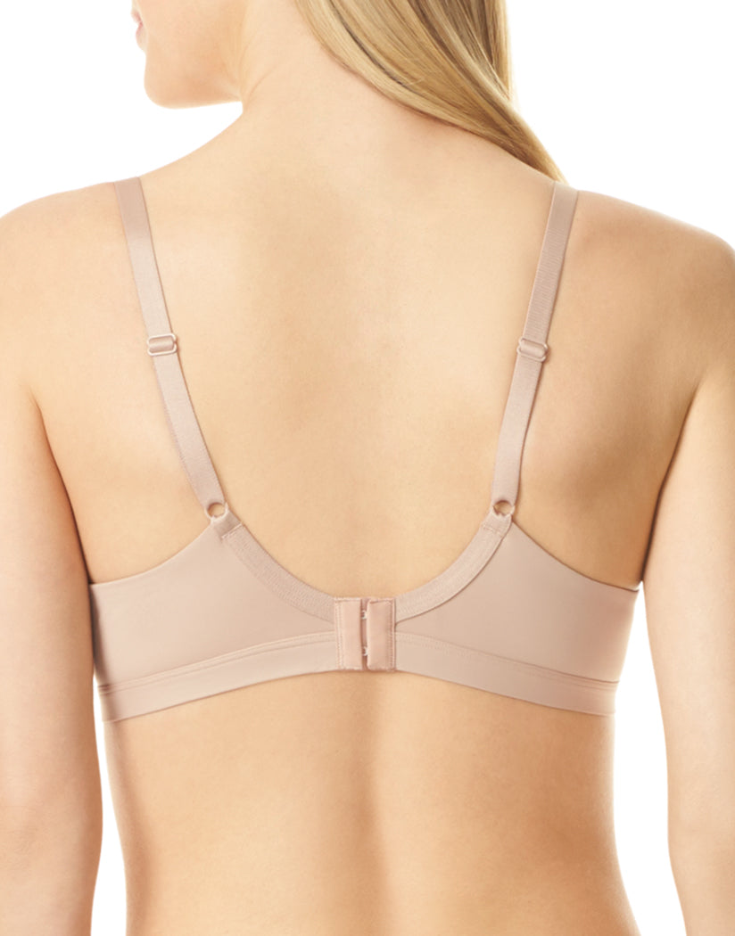 Toasted Almond and Rosewater Back Warner's Lace Escape Underwire Contour Bra RF3341A
