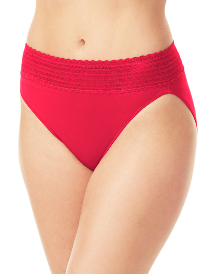 Classic Red Front No Pinching. No Problems. Hi Cut Brief