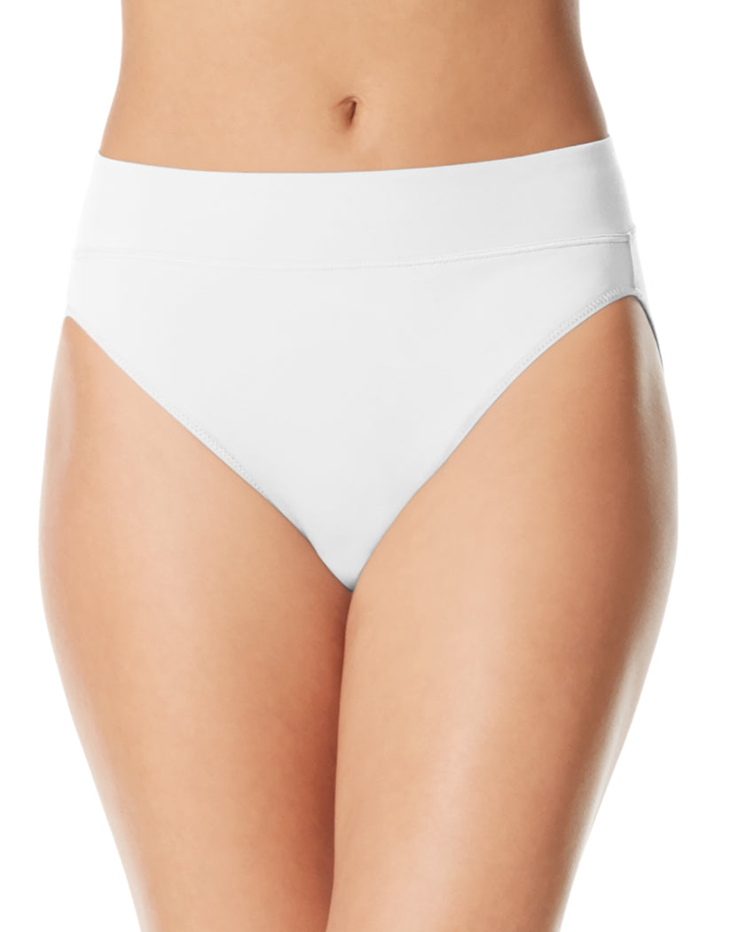 eda6a94873a6 White Front Warner's No Pinching No Problems High Cut Brief Panty 5138J