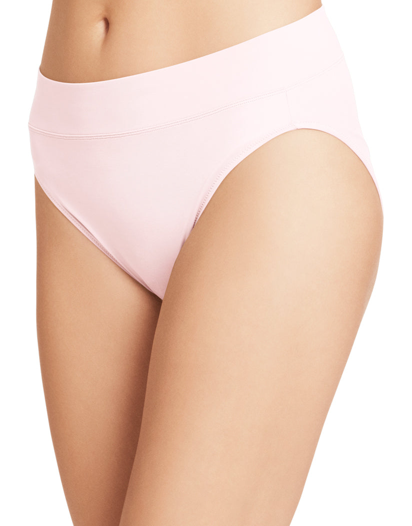 Pale Pink Front Warner's No Pinching No Problems High Cut Brief Panty 5138J