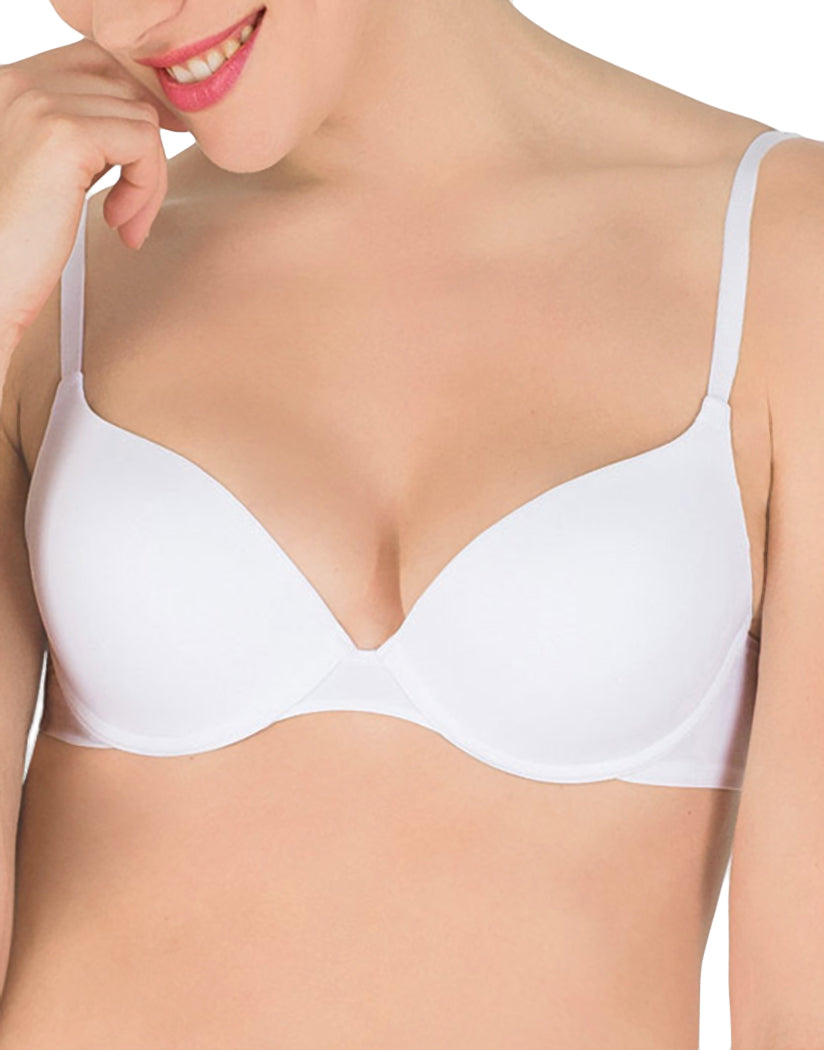 White Front Ultimate Silhouette Push Up Bra
