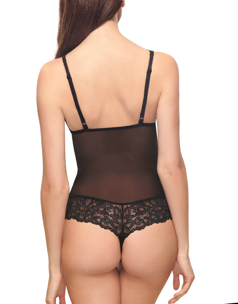 Blackened Pearl Back b.tempt'd by Wacoal B.Charming Bodysuit 936232