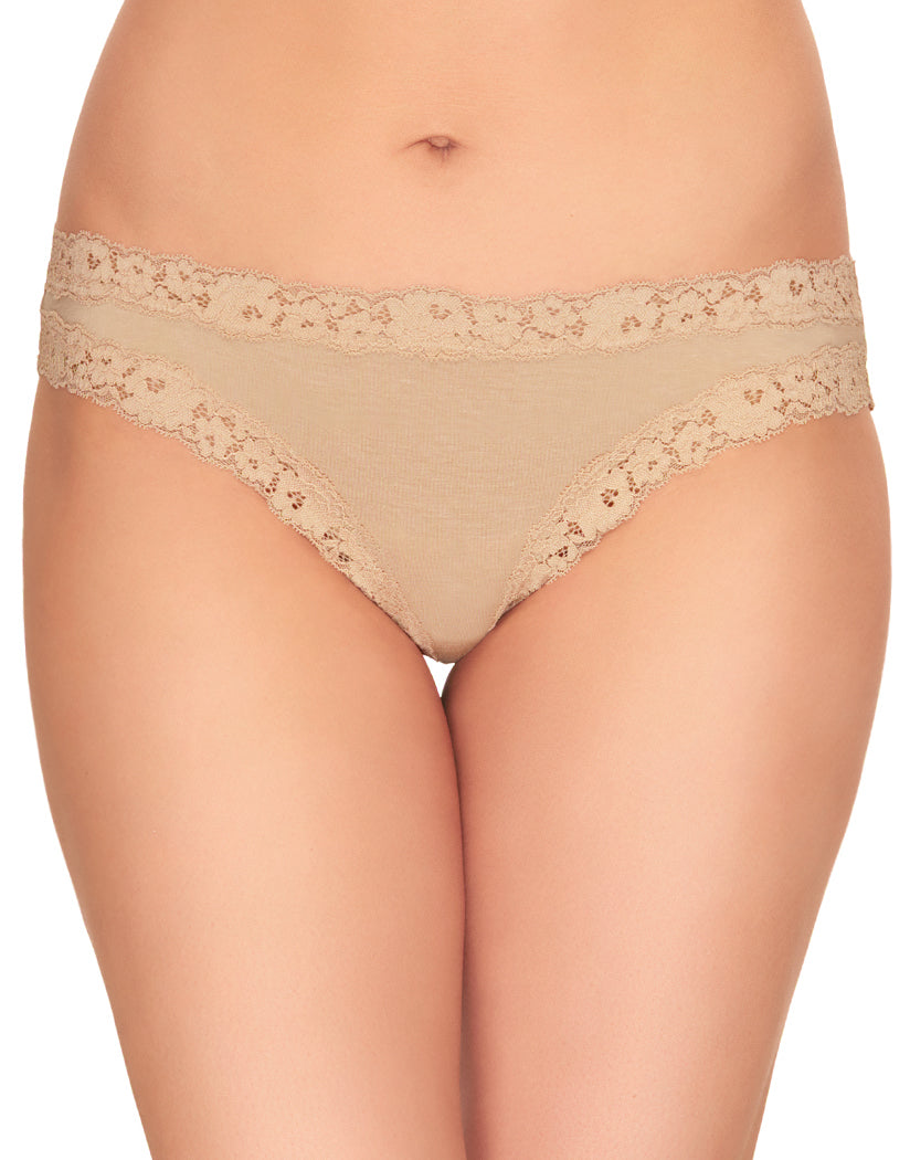 Au Natural Front b.tempt'd by Wacoal Insta Ready Modal Lace Bikini 978229