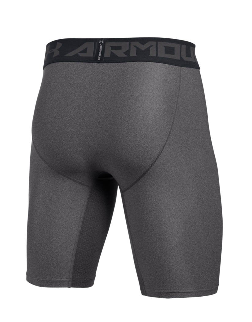Carbon Heather Back Under Armour HeatGear Armour 2.0 Long Compression Short - 1289568