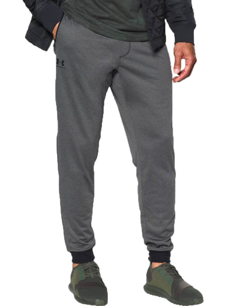 Carbon Heather Front Under Armour Sportstyle Tricot Jogger - 1290261