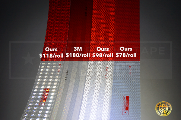 reflective tape prices