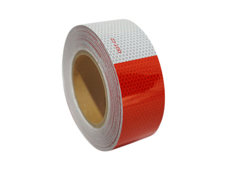 "2""x75' Glass bead DOT reflective tape"