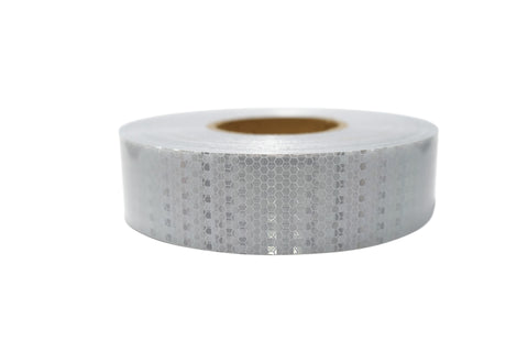 "White DOT-C2 High intensity prismatic tape 2""x150'roll"