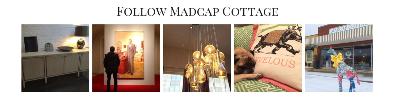 Follow Madcap Cottage on Social Media