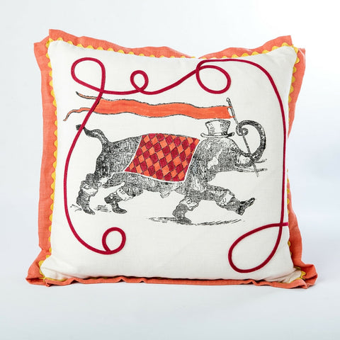 Hand-painted Horace Pillow