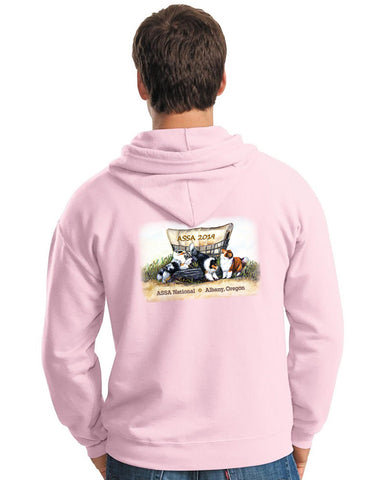 2019 ASSA National - Full Zip Hooded Sweatshirt