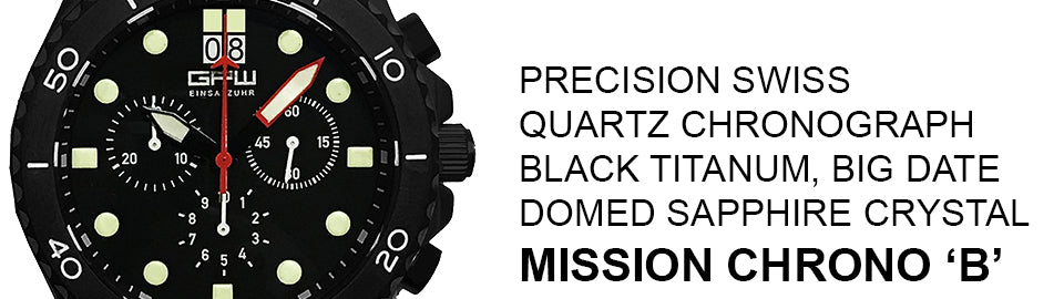 GPW Mission Chronograph 'B'