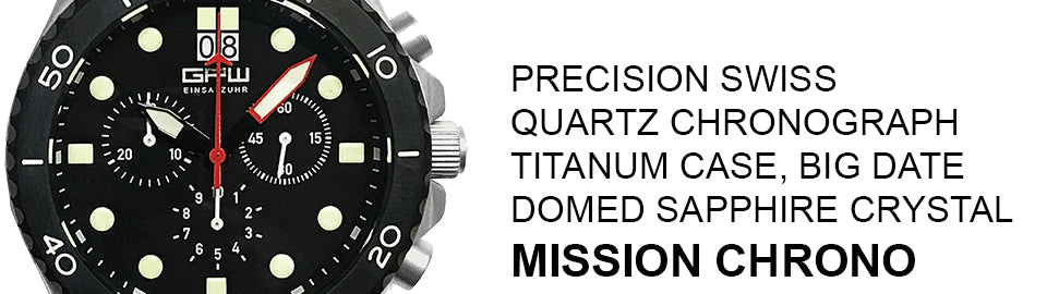 GPW Mission Chronograph