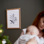 Personalised Family Tree Botanical Print