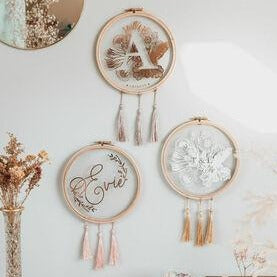 NURSERY HOOP WALL HANGING