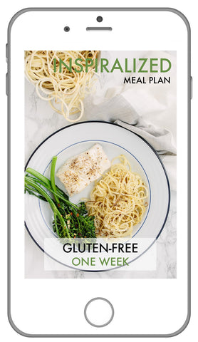 Inspiralized Meal Plan, Gluten-Free: Week 2