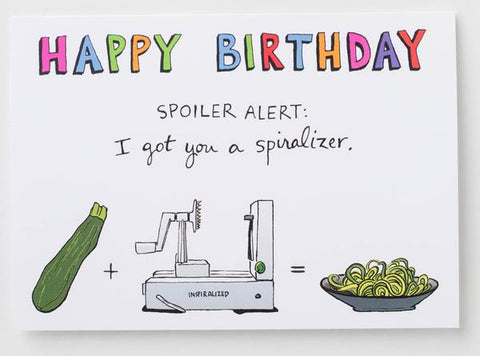 Happy Birthday // Inspiralized Greeting Card