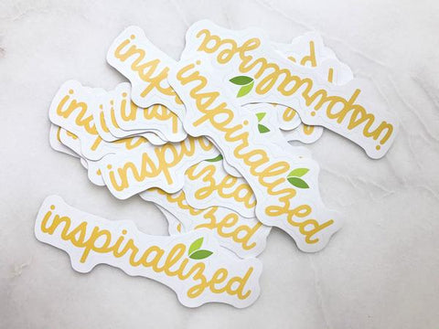 The Inspiralized Sticker