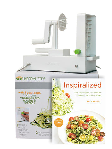 Package Deal: The Inspiralizer® + Inspiralized Cookbook