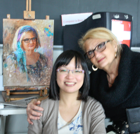 Maria Waye Customer Review 5 Star Artist Custom Portrait Oil Painting Fine Art Collection
