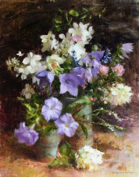 Maria Waye Art that lets you Live freely and lightly oil painting florals original fine art