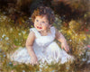 "Custom Portrait Oil Painting 16x20"" One person or pet (40.64x50.8 cm)"