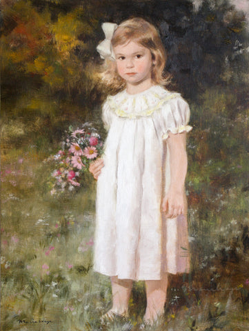 "Custom Portrait Oil Painting 18x24"" One person or pet (45.72x60.96 cm)"