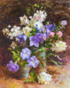"""Mid-Summer Blooms of Allure and Mystery"" Original Oil Painting"
