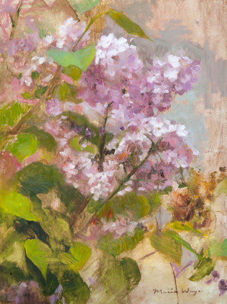 """Lovely Lilacs"" Original Oil Painting"