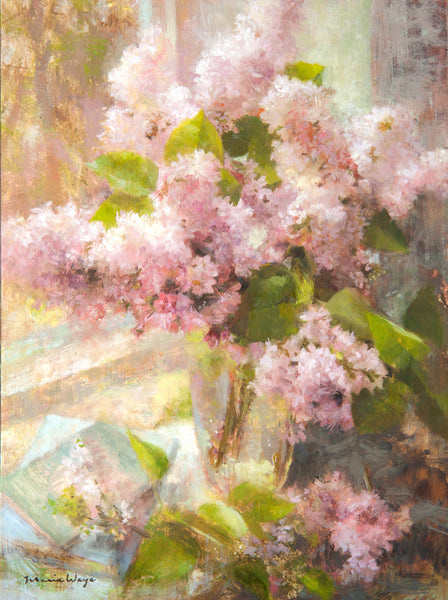 """The Sweetness of Lilacs"" Original Oil Painting"