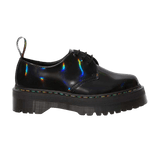 Dr.Martens Women's 1461 RAINBOW PATENT PLATFORM SHOES Multi Color