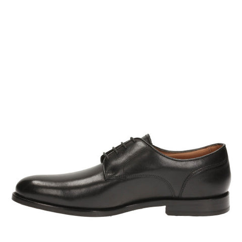Clarks Coiling Walk Black Leather