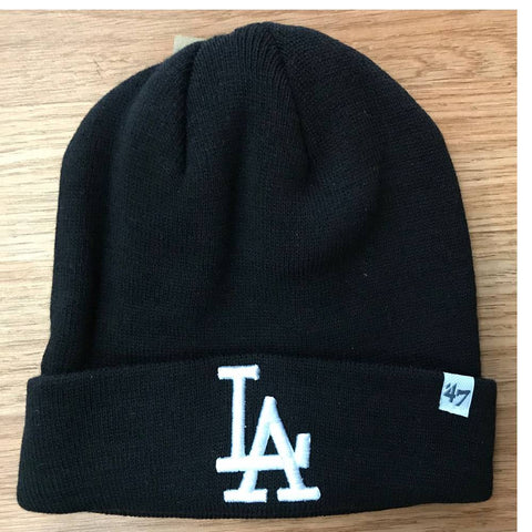 Los Angeles Dodgers Raised Cuff Knit Beanie