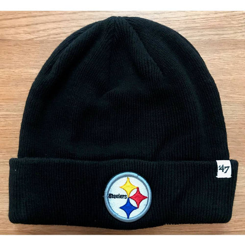 Pittsburgh Steelers Raised Cuff Knit Beanie