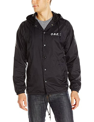 Obey O.B.E.Y Coach's Jacket