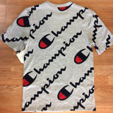 CHAMPION ALL OVER SCRIPT TEE