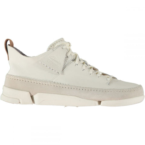 Clarks Trigenic Flex White Leather