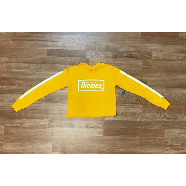 a886dc7aabf Dickies Women's Crop Top Logo Long Sleeve – HiPOP Fashion