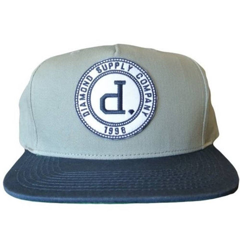 ccfe653dca6f6 Diamond Supply Co. College Seal Snapback Hat ...