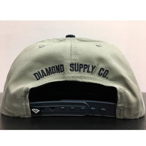Diamond Supply Co. College Seal Snapback Hat