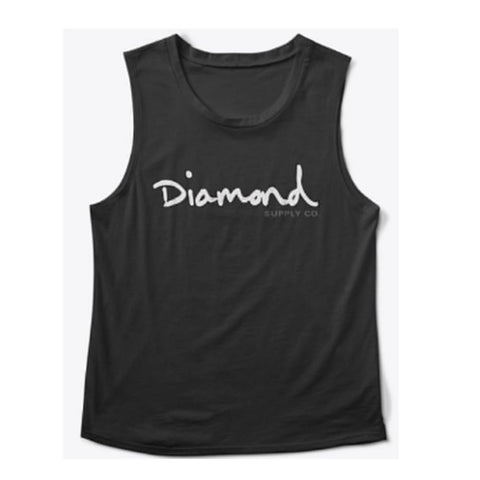 Diamond Supply Co. OG Script Muscle Tank