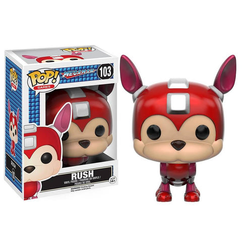 Funko Pop!Mega Man Rush Collectibles