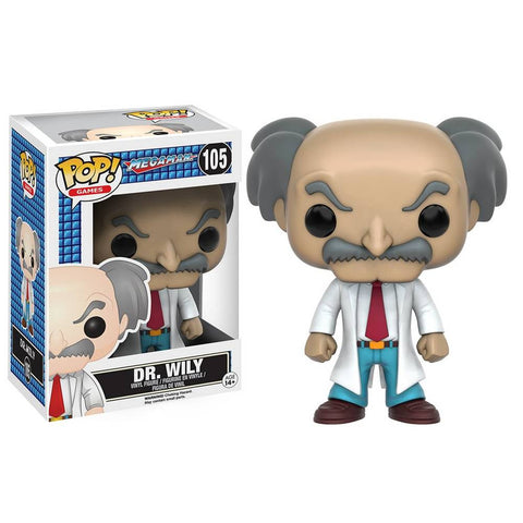 Funko Pop! Dr. Wily Collectible