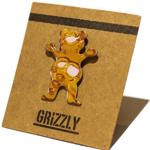 Grizzly Shatter Bear Pin