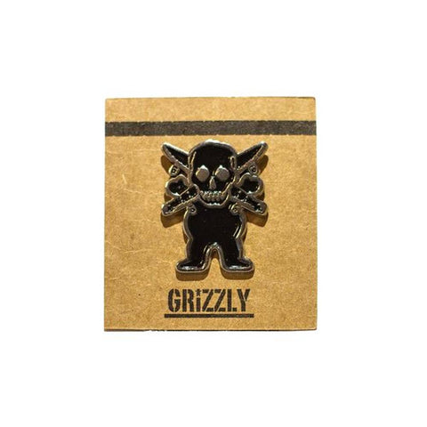 Grizzly Pirate Pin