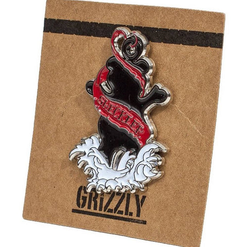 Grizzly Sheckler Inked Pin