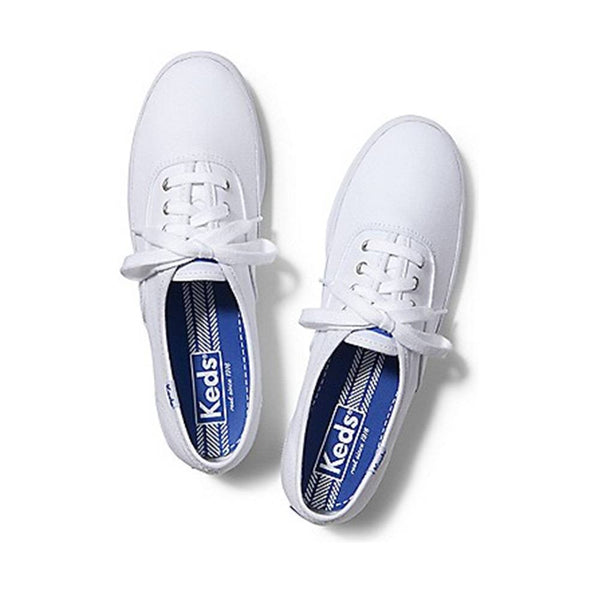 0476b8760ec3d8 Keds Champion Low Top White Shoes – HiPOP Fashion