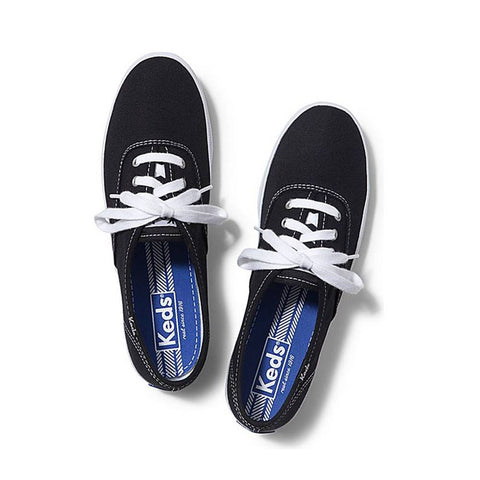 Keds Champion Low Top Black Shoes