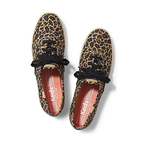 Keds Champion Leopard Design Shoes