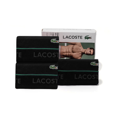 Lacoste Men's Supima Cotton 3-Pack Trunks RAME102